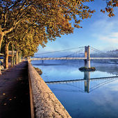 Lyon in autumn — Stock Photo