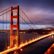 Night scene with Golden Gate Bridge — 图库照片 #13635343