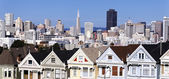 Panoramic san francisco — Stock Photo