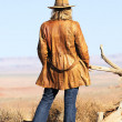 Cowgirl style — Stock Photo