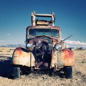 Pouštní truck — Stock fotografie