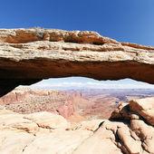 Mesa słynny łuk — Zdjęcie stockowe