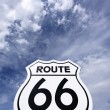 Nostalgic route 66 sign — Stock Photo #14104725