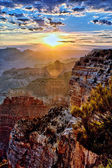 Grand Canyon at sunrise — Stock Photo