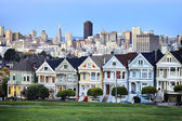 Famous Alamo square — Stock Photo