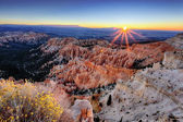 Sunrise at Bryce Canyon — Stock Photo