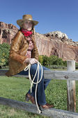 Woman, country style — Stock Photo