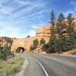 Road to Bryce Canyon, panoramic view — Stock Photo