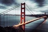 мост золотые ворота в сан-франциско — Стоковое фото