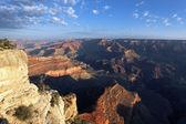 горизонтальный вид гранд-каньон — Стоковое фото