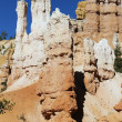 Famous Hoodoo rock spires — Stock Photo #16963781