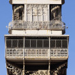 Famous Santa Justa Elevator — Stock Photo #17465141