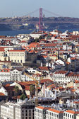 Vertical view of Lisbon — Stock Photo