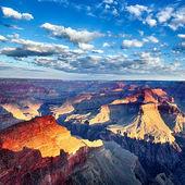 Grand Canyon square — Stock Photo
