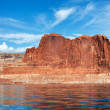Panoramic view of the lake Powell — Stock fotografie