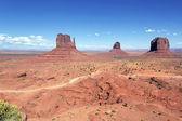 Unique landscape of Monument Valley — Stock Photo