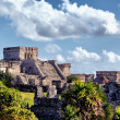 Famous historical ruins of Tulum — Stock Photo