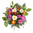 Fresh flowers bouquet — Stock Photo