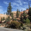 Panoramic view of Road to Bryce Canyon — Stock Photo