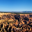 Famous amphitheater of Bryce Canyon — Stock Photo