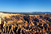 Famous amphitheater of Bryce Canyon — 图库照片