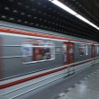 Prague subway — Stock Photo #18522435