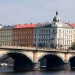 View of Prague district - Stock Photo