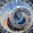 Part of famous zodiacal clock - Stock Photo