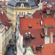 Prague roofs - Stock Photo