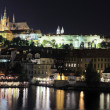 Prague by night - Stock Photo