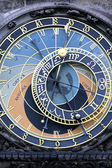 Part of famous zodiacal clock — Stock Photo