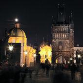 Praça noite — Foto Stock