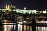 Prague by night — Stock Photo