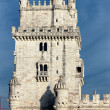 Famous Belem Tower in evening — Stock Photo #18648197