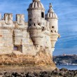 Part of Belem Tower — Stock Photo #18648303