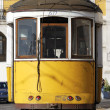 Typical yellow Tram — Stock Photo