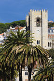 Church of the city of Lisbon — Foto de Stock