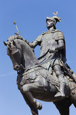 Statue of King Joao I — Stock Photo