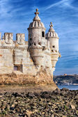 Part of Belem Tower — Stock Photo