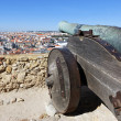Famous cannon of Saint George Castle — Stock Photo #18679647