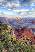 Vertical view of famous Grand Canyon — Stock Photo