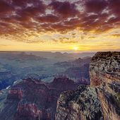 Grand Canyon at sunrise — Stockfoto