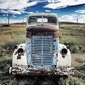 Vieille place de camion — Photo