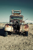 Old destroy truck — Stock Photo