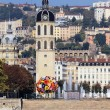 Stock Photo: Rhone river in Lyon