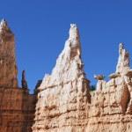 Horizontal view of Hoodoo rocks — Stock Photo #19299015