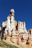 Famous hoodoo rocks at Bryce Canyon — Stock Photo