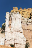 Famous hoodoo rocks — Stock Photo