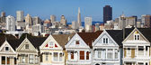 Panoramic view of San Francisco — Stock Photo