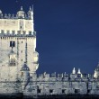 Famous Tower of Belem by night — Stock Photo #19922699